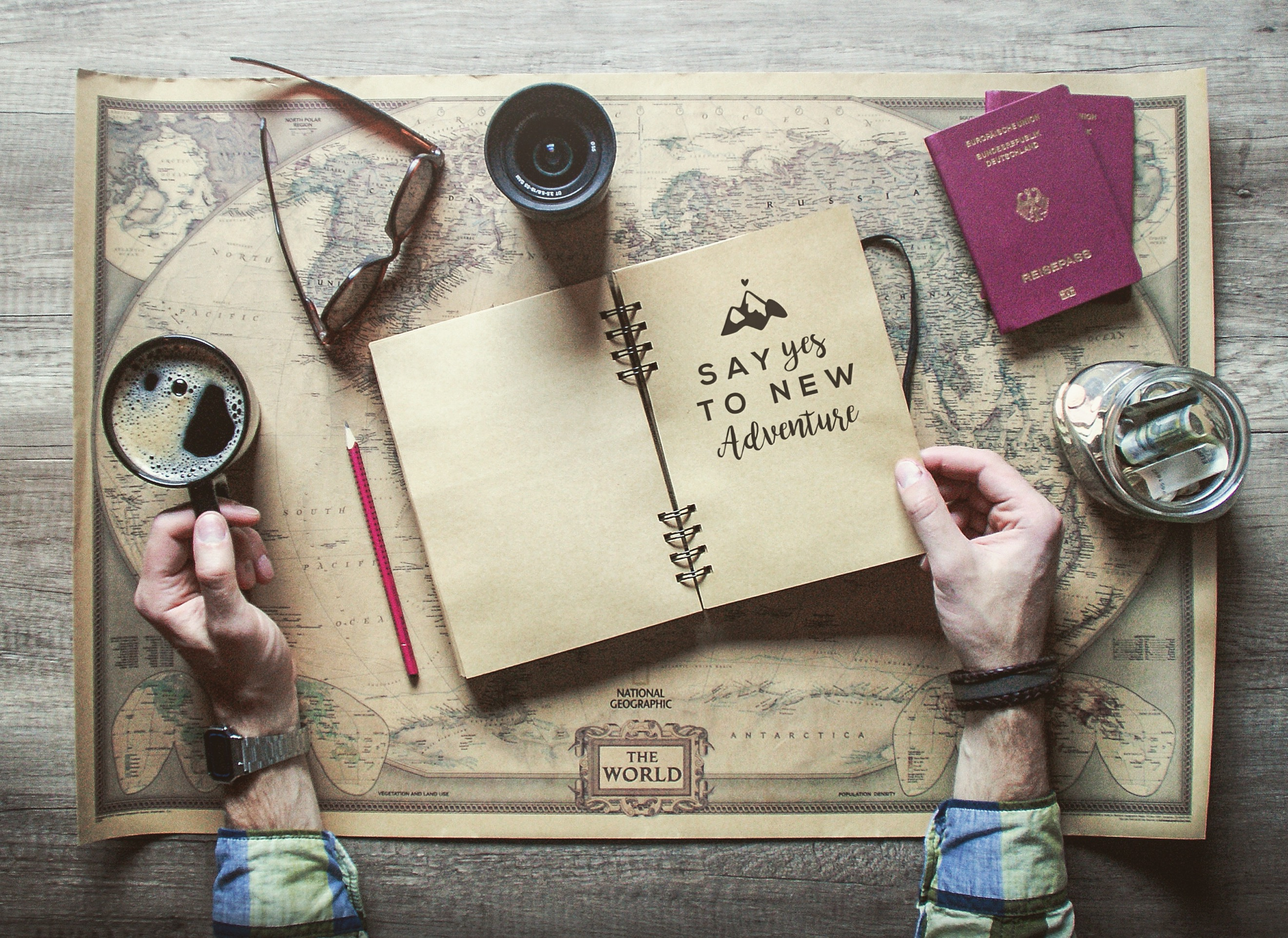 Entscheidung Weltreise