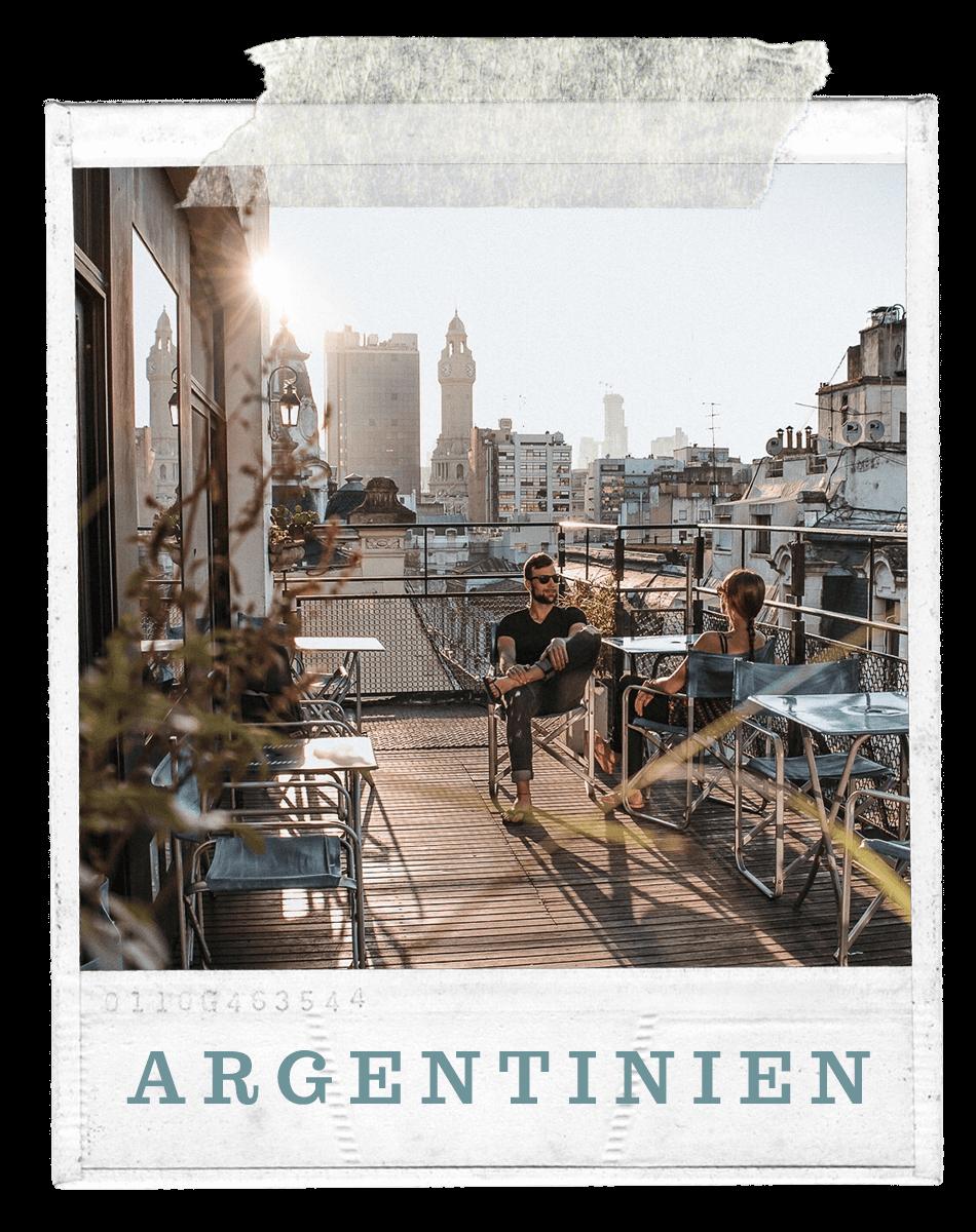 Fernweh Weltreise Argentinien