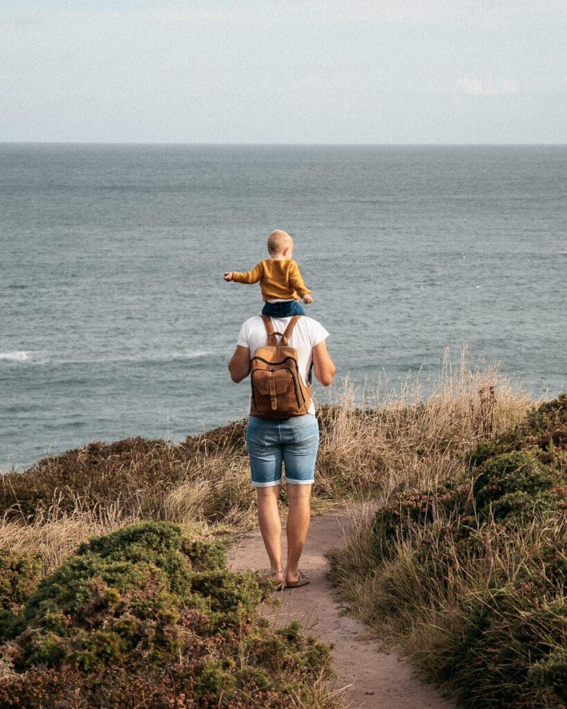 Elternzeit in der Bretagne